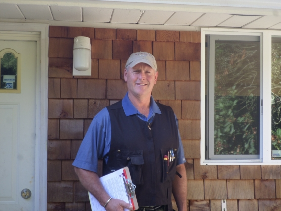 Chris Honingford experienced home inspector sewer inspector On The Spot Inspections